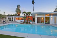 Mid-century modern home and pool in Palm Desert CA... but ...