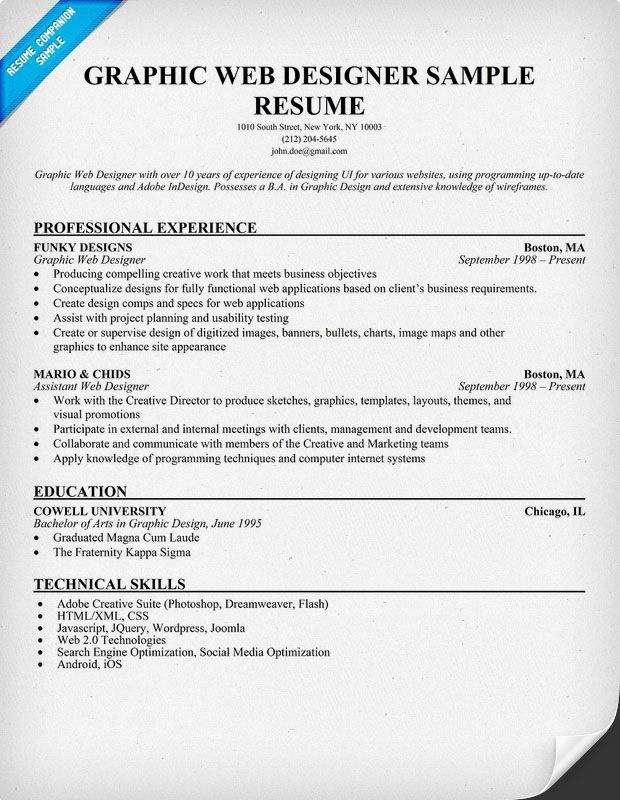 Web Resume Examples 30+ Excellent Resume Designs For Inspiration - web resume examples