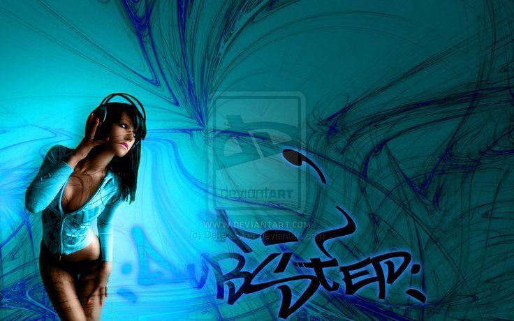 Digital Headphone Wallpaper Girl Headphone Girl Dubstep By Detekjoker On Deviantart Music