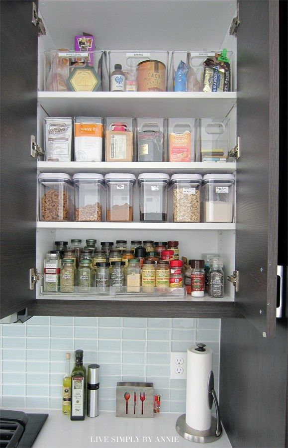 Organiser For Kitchen Cupboard 17 Best Ideas About Apartment Kitchen Organization On