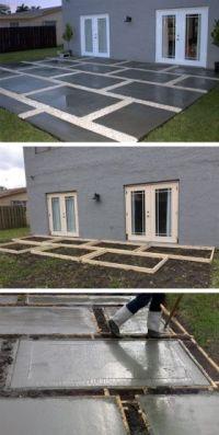 25+ Best Ideas about Concrete Backyard on Pinterest ...