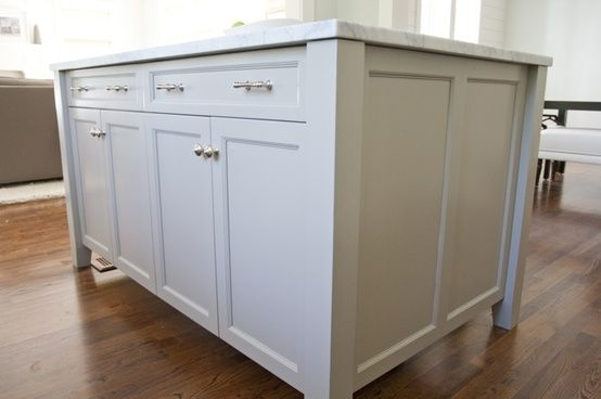 "Paint Kitchen Cabinet Hardware Silver ""ocean Floor"" Color Cabinets- Martha Stewart. Light Grey"