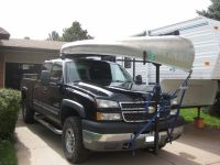Thule Goalpost Hitch Mounted Load Bar Thule Hitch Cargo ...