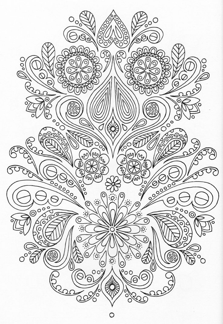 Gr grown up colouring in pages - Abstract Doodle Zentangle Paisley Coloring Pages Colouring Adult Detailed