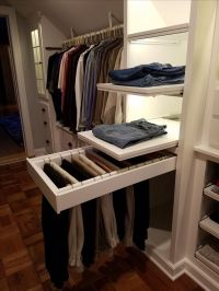 Best 20+ Slanted ceiling closet ideas on Pinterest | Attic ...