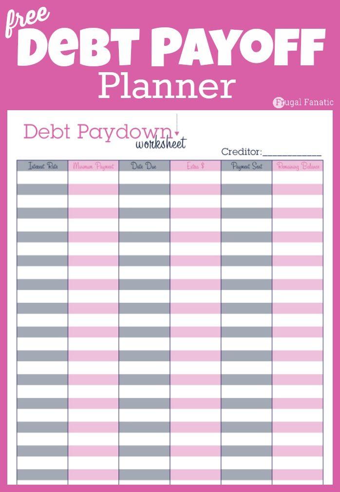 printable budgeting sheets