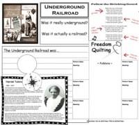 Underground Railroad Lapbook | Underground Railroad