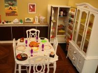 Vintage Sindy doll house pieces ~ some re-painted ...