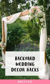 25+ Best Ideas about Backyard Wedding Decorations on ...