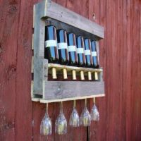 25+ best ideas about Pallet Wine Holders on Pinterest