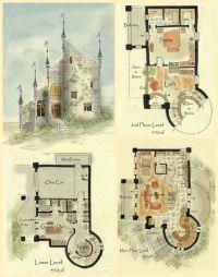 25+ Best Ideas about Castle House Plans on Pinterest ...