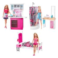 2015 Barbie Furniture Sets   In the Dollhouse   Pinterest ...