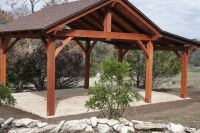 tin roof outdoor shelter | Pavilions San Antonio | Outdoor ...