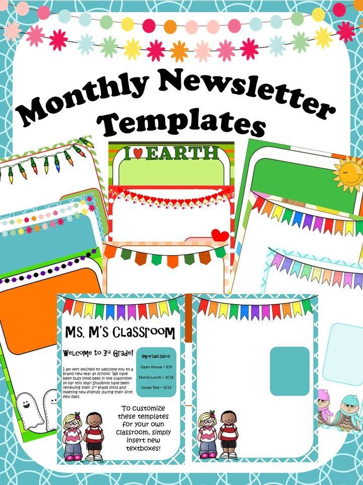 pta newsletter template