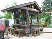 My backyard tiki bar | Outdoor kitchen | Pinterest ...