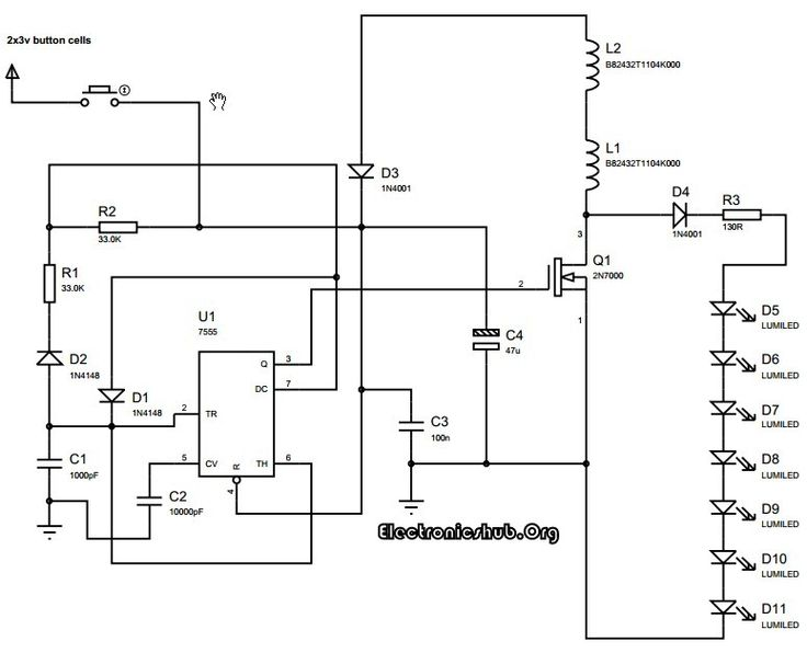 electronics mini projects with circuit diagram