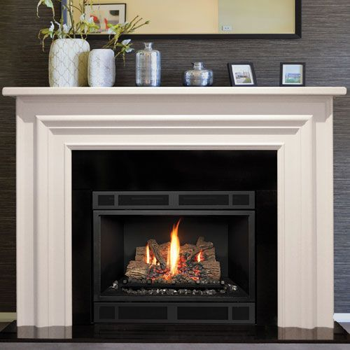 25+ best ideas about Gas fireplace mantel on Pinterest