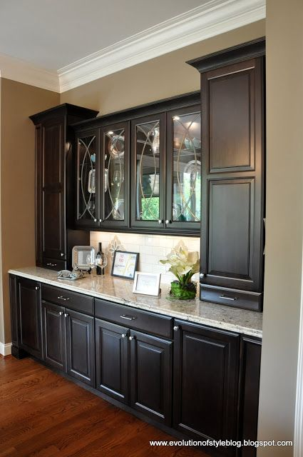 Kitchen Cabinet Buffet Ideas Amazing Built In Buffet - This Is What I See As The Butler