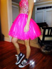 1000+ images about prom converse on Pinterest | Homecoming ...