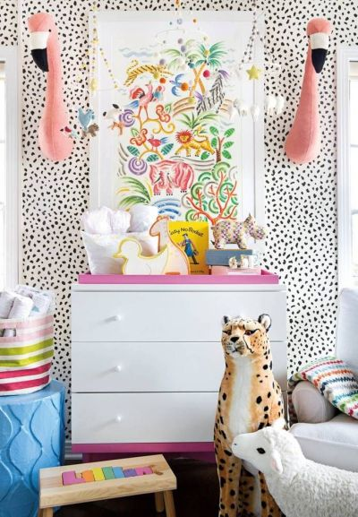 17 Best ideas about Kids Room Wallpaper on Pinterest | Eclectic baby and kids, Eclectic ...