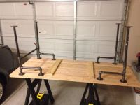 25+ best ideas about Pipe desk on Pinterest   Industrial ...