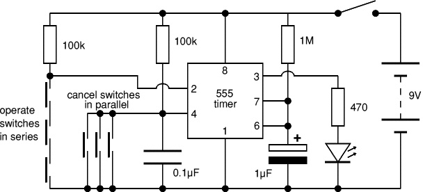 simple electronic projects circuit diagram