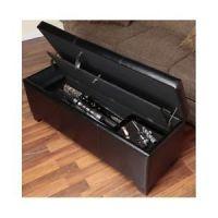 Concealed Gun Safe Cabinet Hidden Rifle Storage Bench ...