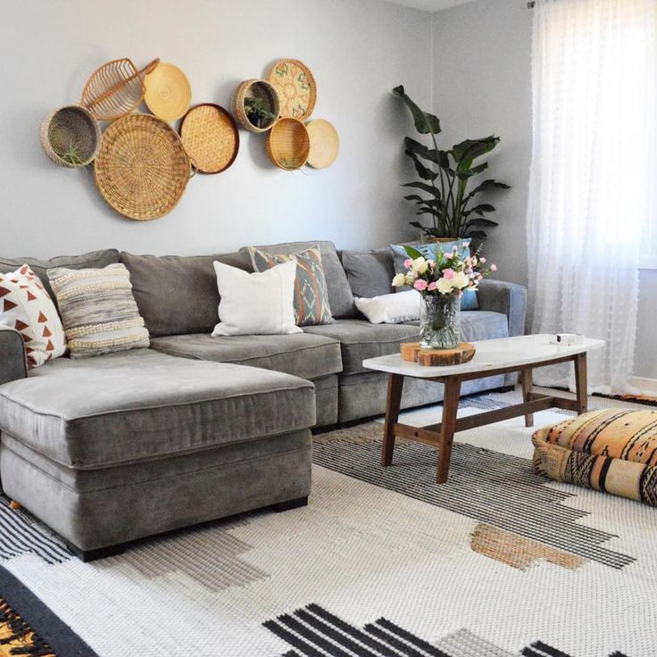 Sofas Facing Each Other Decor Best 20+ Grey Sectional Sofa Ideas On Pinterest
