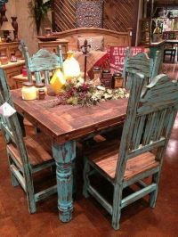 Top 25+ best Turquoise Kitchen Tables ideas on Pinterest ...