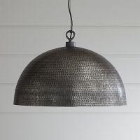 Large Metal Dome Pendant Light | Rodan Pendant Light ...