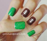25+ best ideas about Football nails on Pinterest ...
