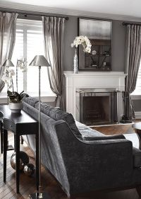 25+ best ideas about Gray Living Rooms on Pinterest   Gray ...
