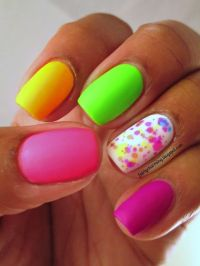 1000+ ideas about Neon Purple Nails on Pinterest ...