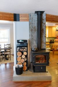 wood+stove+on+back+porch | Grand Gas Stove decorating ...