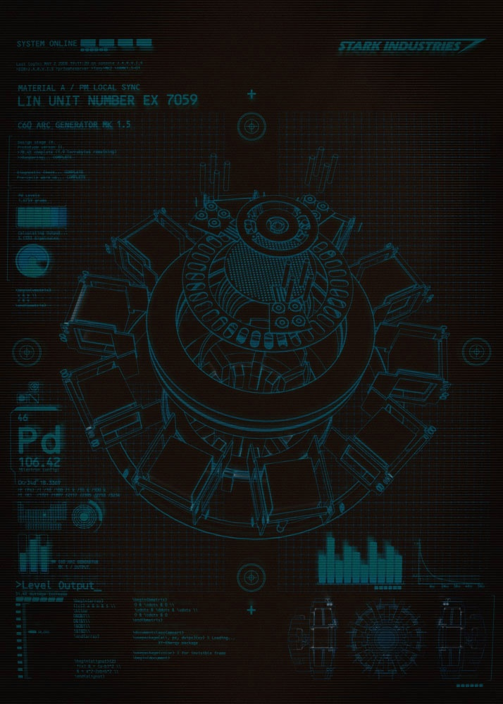Tony Stark Hd Wallpapers Stark Industries By Ant Baena Marvel Infographics