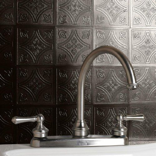 How To Stick Bathroom Wall Panels Self Adhesive Backsplash Tiles | Brylanehome Peel-and