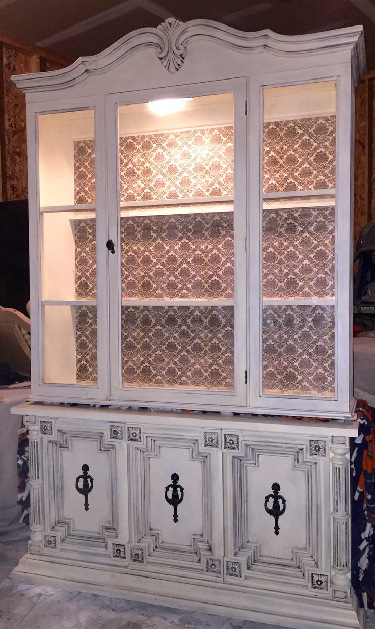 Bookcase Refurbished Hutch By Ashley Kettering - The Kozy Abode