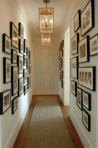 25+ best ideas about Narrow hallway decorating on ...