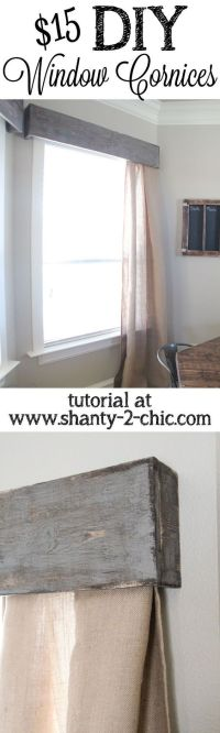 Best 20+ Wooden Valance ideas on Pinterest
