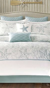 17 Best ideas about Coastal Bedding on Pinterest