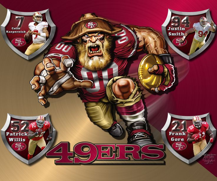 Patrick Willis Hd Wallpaper 49ers Logo Wallpaper 49ers Crazy Logo Shield Players