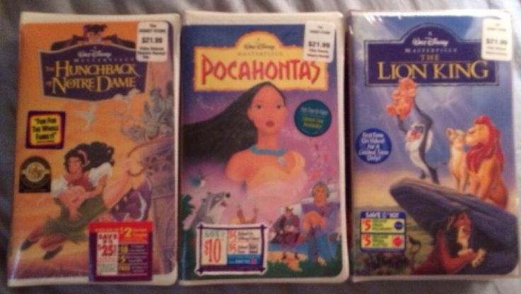 the lion king 2 vhs value