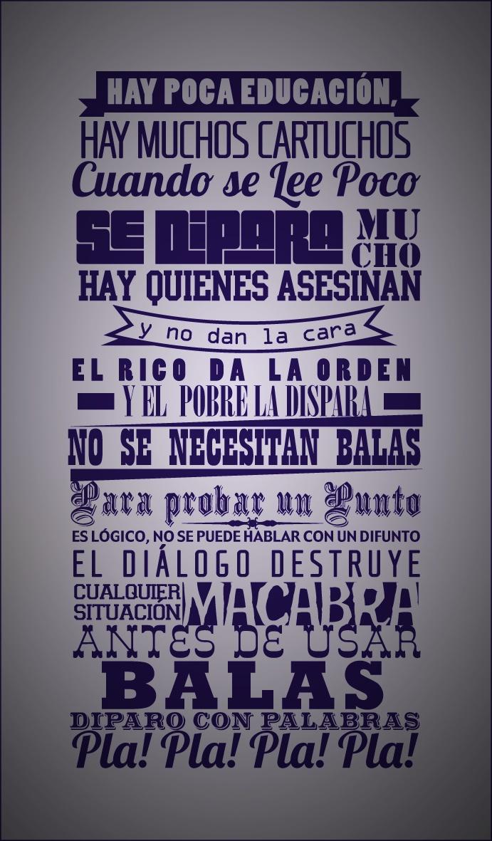 Rocky Wallpaper With Quotes Me Laten Sus Letras De Calle 13 Frases Pinterest 13