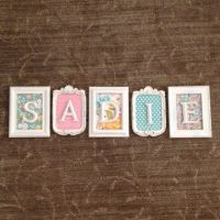 1000+ ideas about Framed Letters on Pinterest | Purple ...