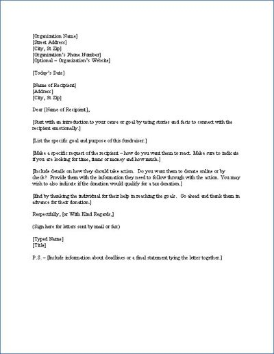 10 best images about Fundraising Letters on Pinterest | Fundraising letter, Fundraising ideas ...