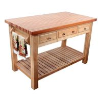 13 best images about Wood Kitchen Work tables on Pinterest ...