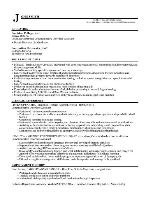 undergraduate biotech resume samples