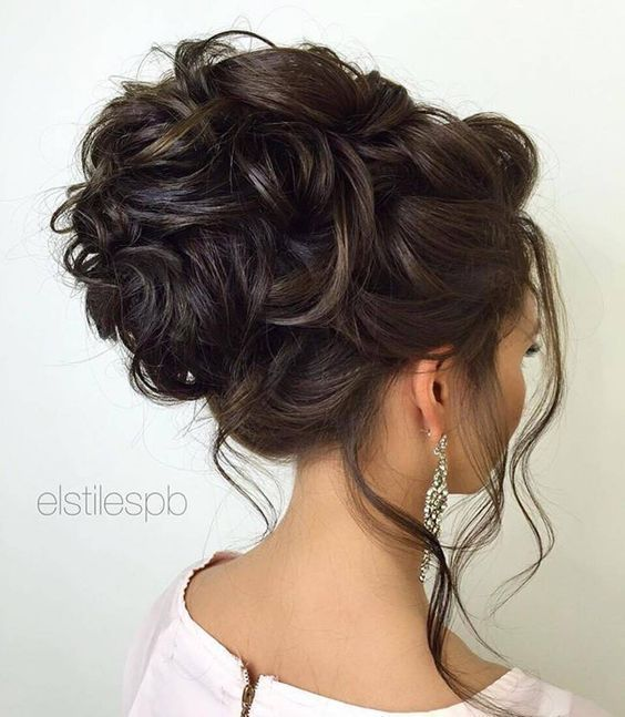 25+ best ideas about Curly wedding hairstyles on Pinterest