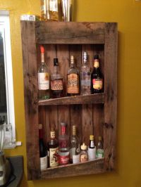 1000+ images about Whiskey Shelf Ideas on Pinterest
