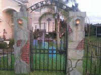 DIY Halloween Cemetery 2013 | Halloween- Outdoor ...